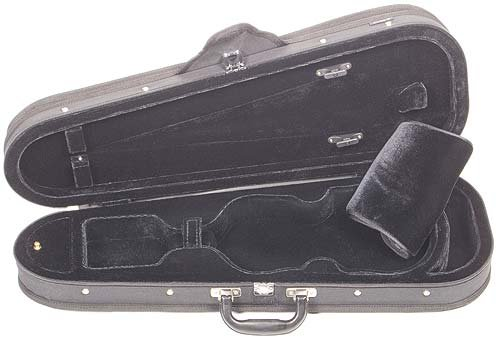 Core CC399 Dart-Shaped 3/4 Violin Case with Black Velvet Interior by Core (Image #5)