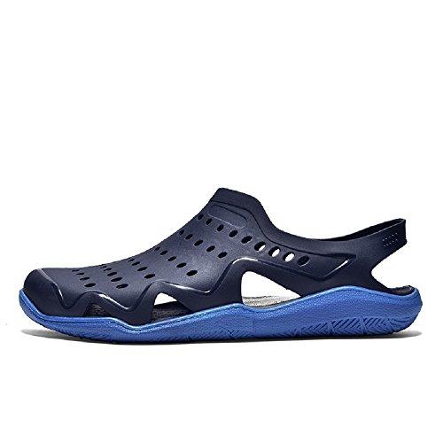 Hafiot Legere Sandales Surf Eau Sabots 39 Plage Homme Confort 45 Chaussures Gris Noir Bleu Plastique Chausson Piscine Été Aquatique Plate Sport rgFrq8Own