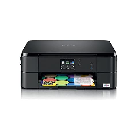 Brother DCP-J562DWR Inyección de Tinta A4 WiFi Negro - Impresora ...