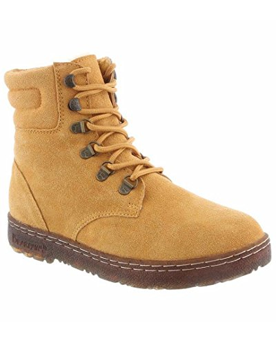 Susan Lace Up 1836W Suede 8 Boots Hiking Bearpaw Honey Womens Dark IU6qAanw