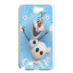 FOR Samsung Galaxy Note 2 Case -(DXJ PHONE CASE)-Frozen - Let It Go - Snow Queen-PATTERN 6
