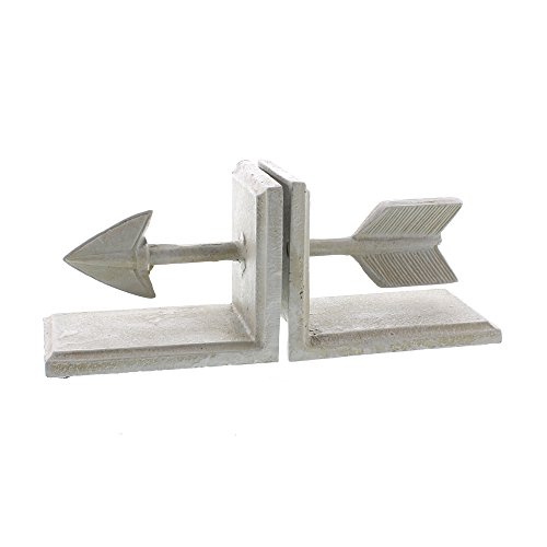 ow Bookends - Antique White ()