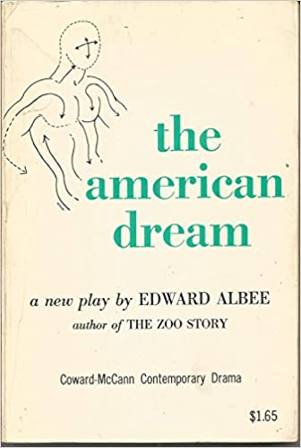 The American Dream A Play Edward Albee 9780698100138 Amazon