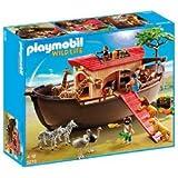 """PLAYMOBIL Wild Life–Arche Noah–5276(Wild Animals 4008789052766) """"mit Arche Noah von Playmobil, Kinder können wieder erstaunlichen Abenteuer inspiriert von der Geschichte des Noah..."""