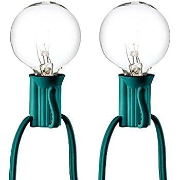 Room Essentials Clear Globe String Lights  Bulbs