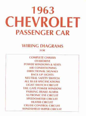 Wiring Diagram Manual Reprint Biscayne product image