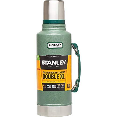 Stanley Classic Vacuum Bottle 2QT Hammertone Green (Bottle Vacuum Classic Stanley)