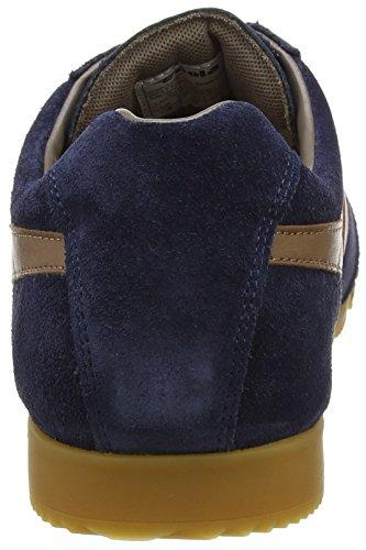 Gola Herren Harrier Fashion Sneaker Marine / Tabak / Stein