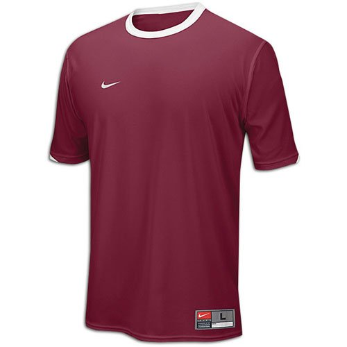 - Nike Tiempo Men's Jersey (Small, Cardinal/White)