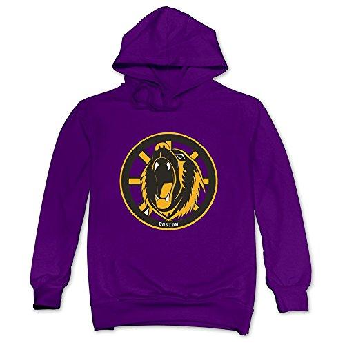 CRIS Tickets Hockey Schedule Boston Bruins Hoodie Purple For Men Boston Bruins Hockey Schedule
