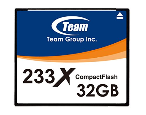 (32GB Team 233X CF CompactFlash memory)