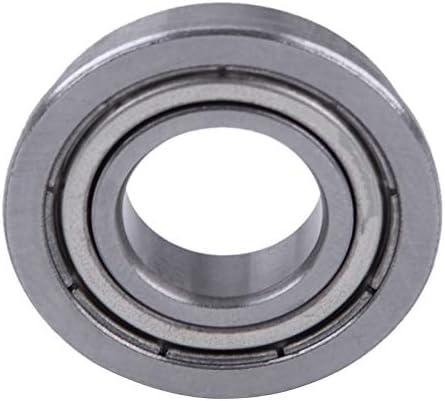 Le double boucliers en m/étal F6901ZZ de 12mm x de 24mm x de 6mm a brid/é le roulement /à billes pour des machines de machines industrielles exp/édie des appareils m/énagers