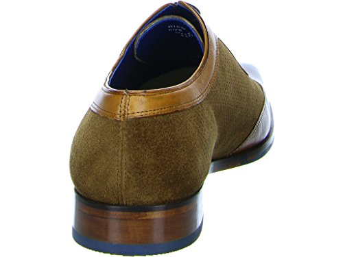 Melvin & Hamilton Rico 8, Chaussures de Ville à Lacets Pour Homme Mittel-braun