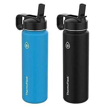 Amazon.com: ThermoFlask - Botellas de agua de acero ...