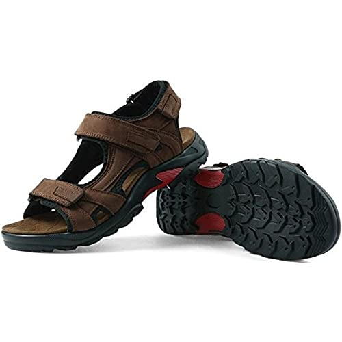 cd07164eb119 PPXID Men s Leather Big Size Strap Gladiator Sandals Sandbeach Shoes on sale