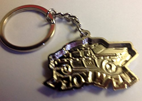 """New York Famous Yellow Cab with """"New York"""" Letter Keychain"""