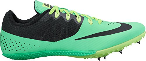 Nike Mens Zoom Rival S 8 Track Spike Electro Green / Black-fantasma Green-white - 12 D (m) Us