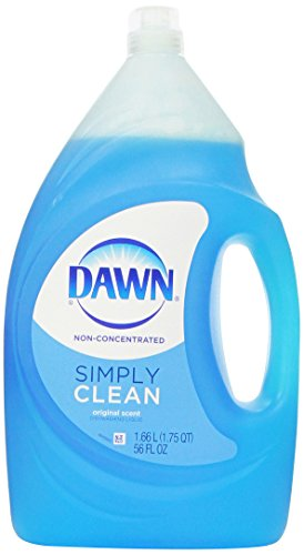 Dawn 795186567552 Dishwashing Liquid Original Scent Simply Clean (Non-Ultra Version) 56oz