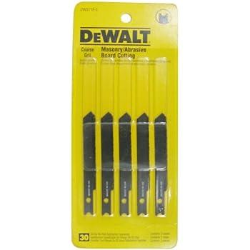 Dewalt Dw3718 5 3 Inch Masonry Board Cut Cobalt Steel U