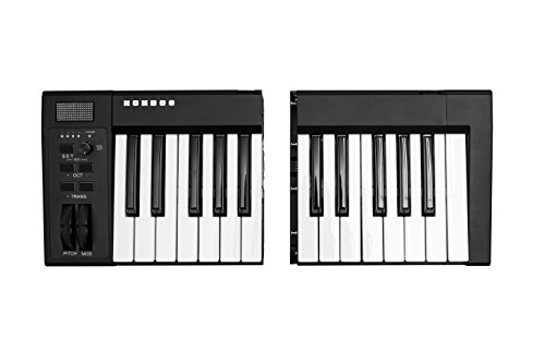 Kombos Wireless Modular Keyboard | 25-Key Portable USB BLUETOOTH MIDI Keyboard with Full-Size Semi-Weight keys | iOS & Android Compatible by Kombos