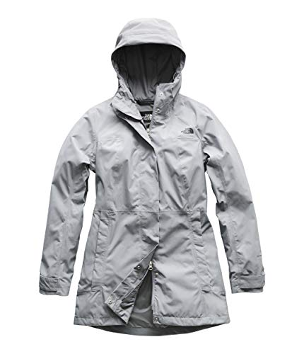 The North Face Women's City Midi Trench Mid Grey Large