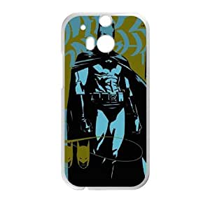 Batman Is Waiting HTC One M8 Cell Phone Case White phone component RT_191768