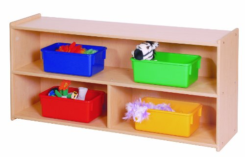 Steffy Wood Products Toddler 2-Shelf Storage (Steffy Wood Products Book Display compare prices)