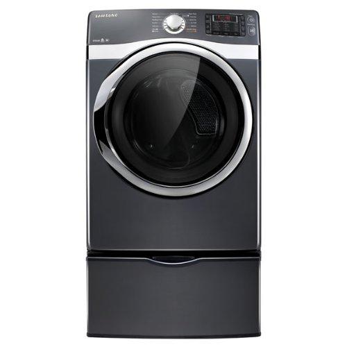 Best Price of Samsung DV455EVGSGR 7.5 cu. ft. Capacity Electric Steam Dryer (Onyx)