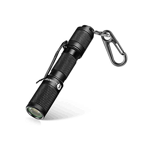 LUMINTOP TOOL AAA Mini EDC Flashlight, Pocket-Sized Keychain Flashlight, Super Bright 110lm OSRAM LED, 3 Modes, IP68 Waterproof, Best Tools for Camping, Hiking, Hunting, Backpacking, Fishing and EDC ()