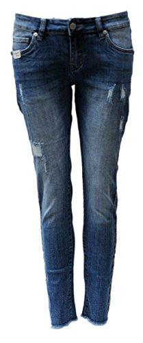 Blue Donna Jeans Skinny Monkey Jeans Donna Skinny Monkey Blue Blue w0XzqXB