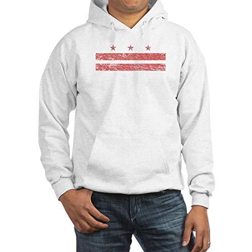 (CafePress Vintage Washington DC Hoodie Pullover Hoodie, Classic & Comfortable Hooded Sweatshirt White)