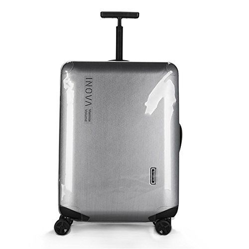 amsonite Inova Spinner PVC Transparent Clear Travel Luggage Case Cover Protector (Inova Spinner 20 inch) ()
