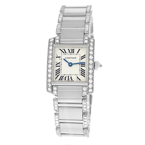Cartier Tank quartz womens Watch 2403 (Certified Pre-owned)