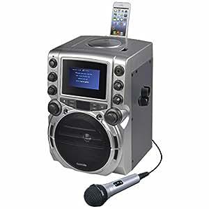 Amazon Com Karaoke Usa Cdg Karaoke Machine With 4 3 Color