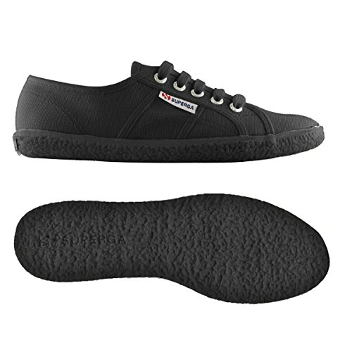 BLACK Sneakers da 2750 Superga Donna Top Cotu Naked Low FULL pA16qtzw