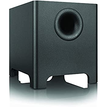 "Kanto 8 Inches 120 Watts 8"" Long-throw Driver Subwoofer, Black (YURI)"