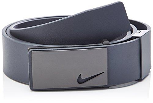 Nike hombre cinturón sleek Gris Oscuro