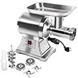 Giantex Electric Meat Grinder, 1.5HP 1100W Meat Mincer with 2 Cutting...