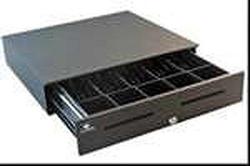 APG Cash Drawers S4000 Cash Drawer Black Enet Perpi/F W/ Audible Alert 1816 5BX5C JB480-1-BL1816-C (Series 1 Drawer)