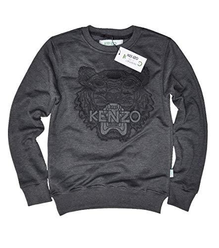 Kenzo ss18 Paris Tiger Logo Women Sweatshirt (Large, Black) from Kenzo