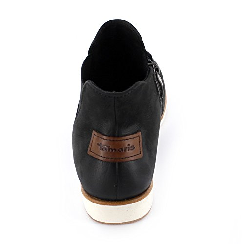 Tamaris - Botas de Piel para mujer negro negro 36