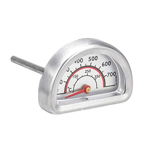 HAPPYDAY Oven Thermometers 2PCS Replacement Thermometer Heat Indicator Gauge for Charbroil Grill