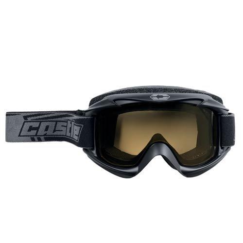 2013 Castle Launch Snowmobile Goggles - Matte Black by Castle