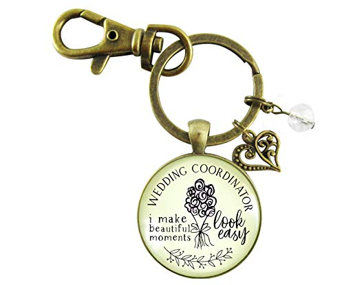 Wedding Coordinator Keychain I Make Beautiful Moments Thank You Gift To Planner From Bride Groom Card Box Jewelry Set