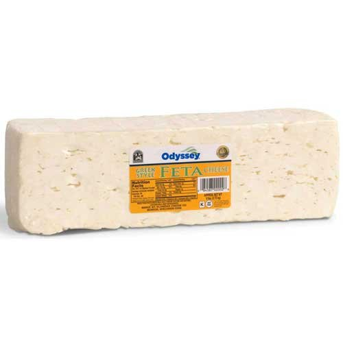 Odyssey Traditional Feta Cheese Loaf, 6 Pound -- 6 per case. by ODYSSEY (Image #1)