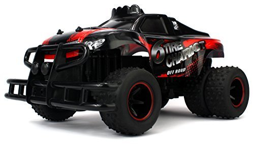Velocity Toys Scale 1:10 6 Tire Chariot Remote Control Truck with 2.4 GHz Control System (Cheap Trucks Rc Waterproof)