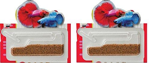 Pack of 2 Hikari 0.176 oz Betta Bio-Gold Baby Pellets bundled by Maven - Food Betta