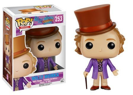 Willy Wonka and the Chocolate Factory Willy Wonka Pop! Vinyl (Willy Wonka Funny)