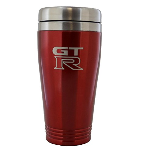 Nissan GT-R Red Stainless Travel Mug (Tumbler Nissan Thermos Travel)