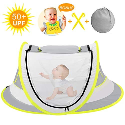 Large Baby Beach Tent,Portable Baby Travel Tent